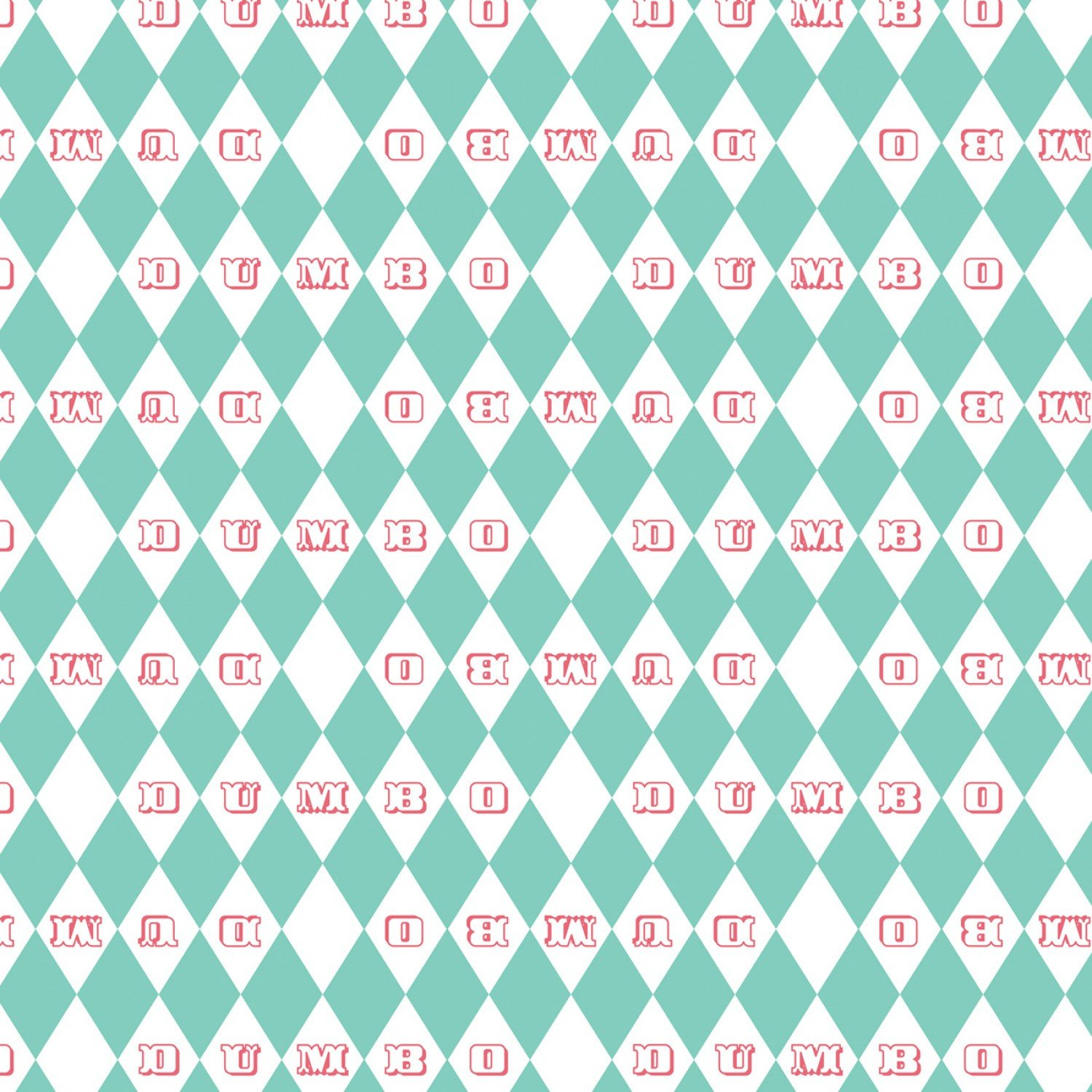 CF-Dumbo in the Circus 85160202-02 Vintage Argyle in Turquoise
