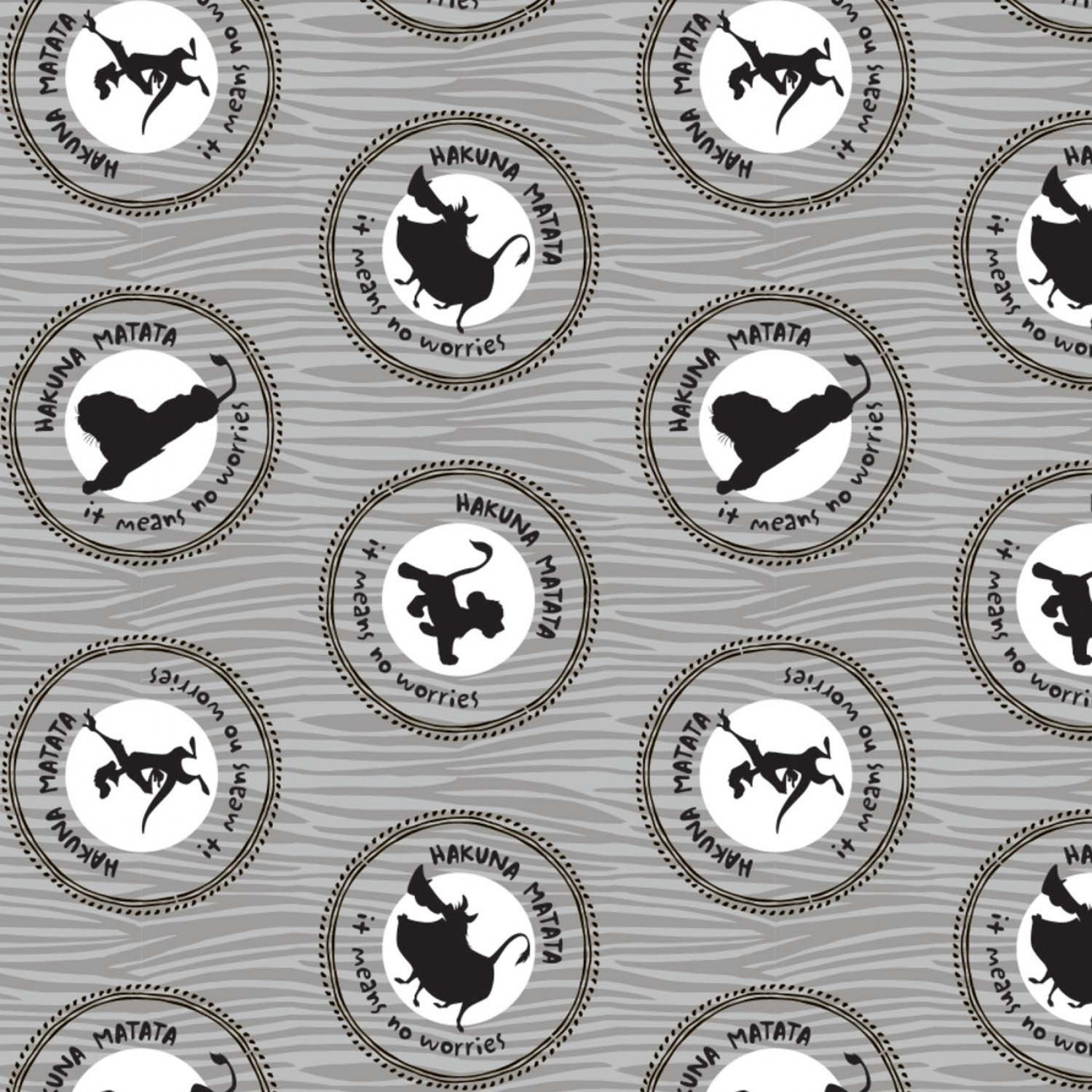 CF-The Lion King 85260206-02 Medallions in Grey