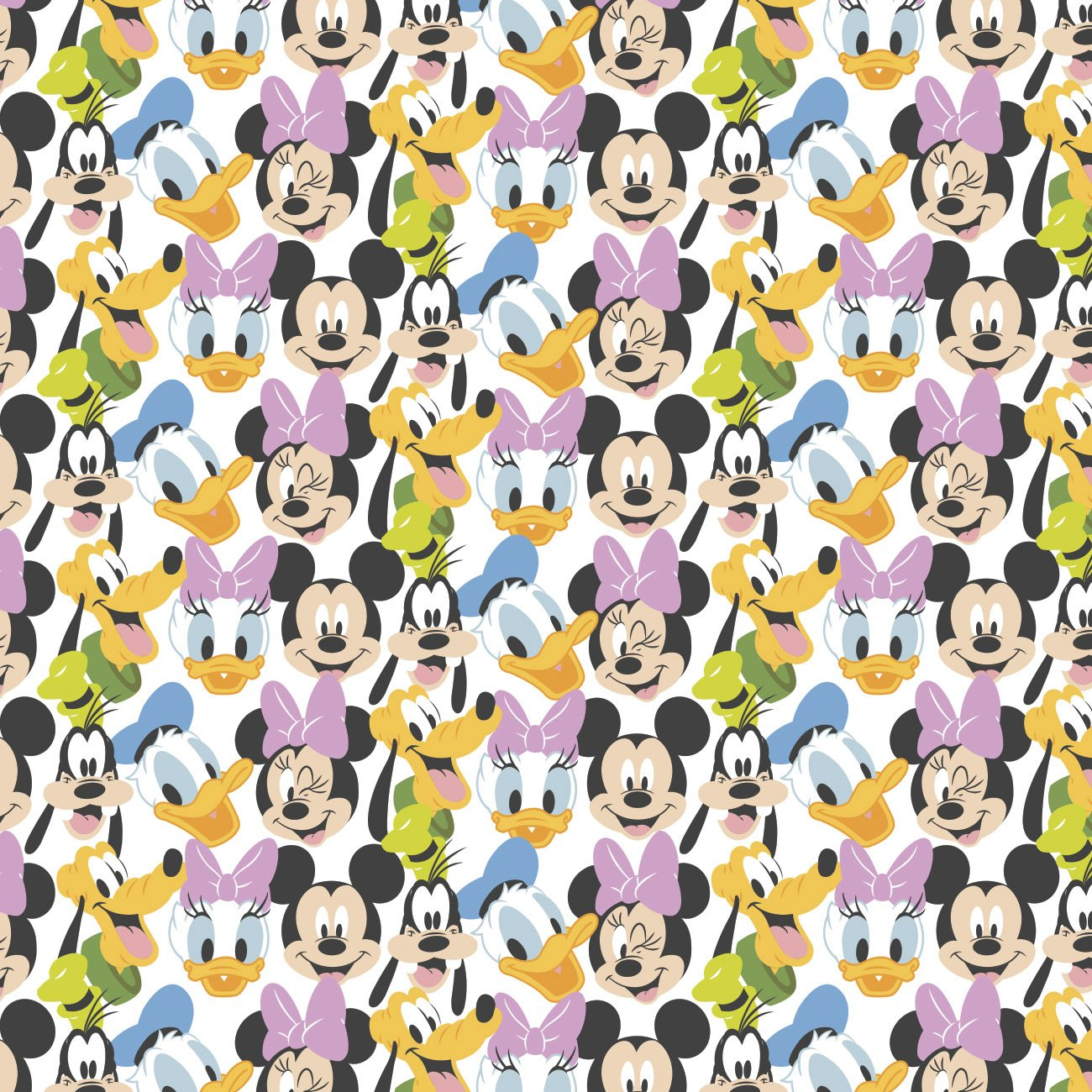 CF-Disney Cotton 85271020-01 Mickey Mouse Here Comes the Fun