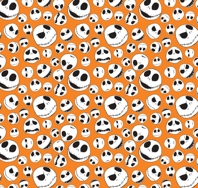 CF-Nightmare Before Christmas 85390104 2 Jack Faces in Orange