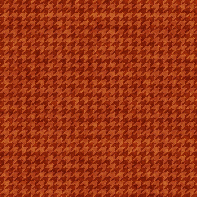 HG-Houndstooth Basics 8624-35 Pumpkin