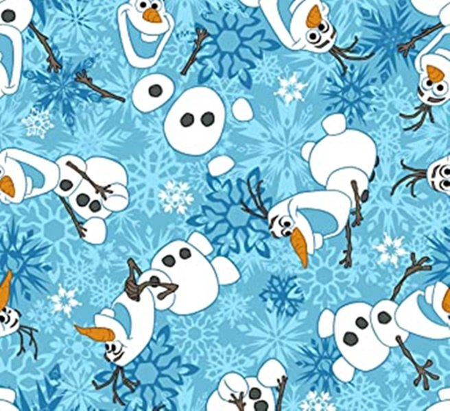 PROMO* SC-Licensed Fleece 52172-160018 Olaf Fleece Print
