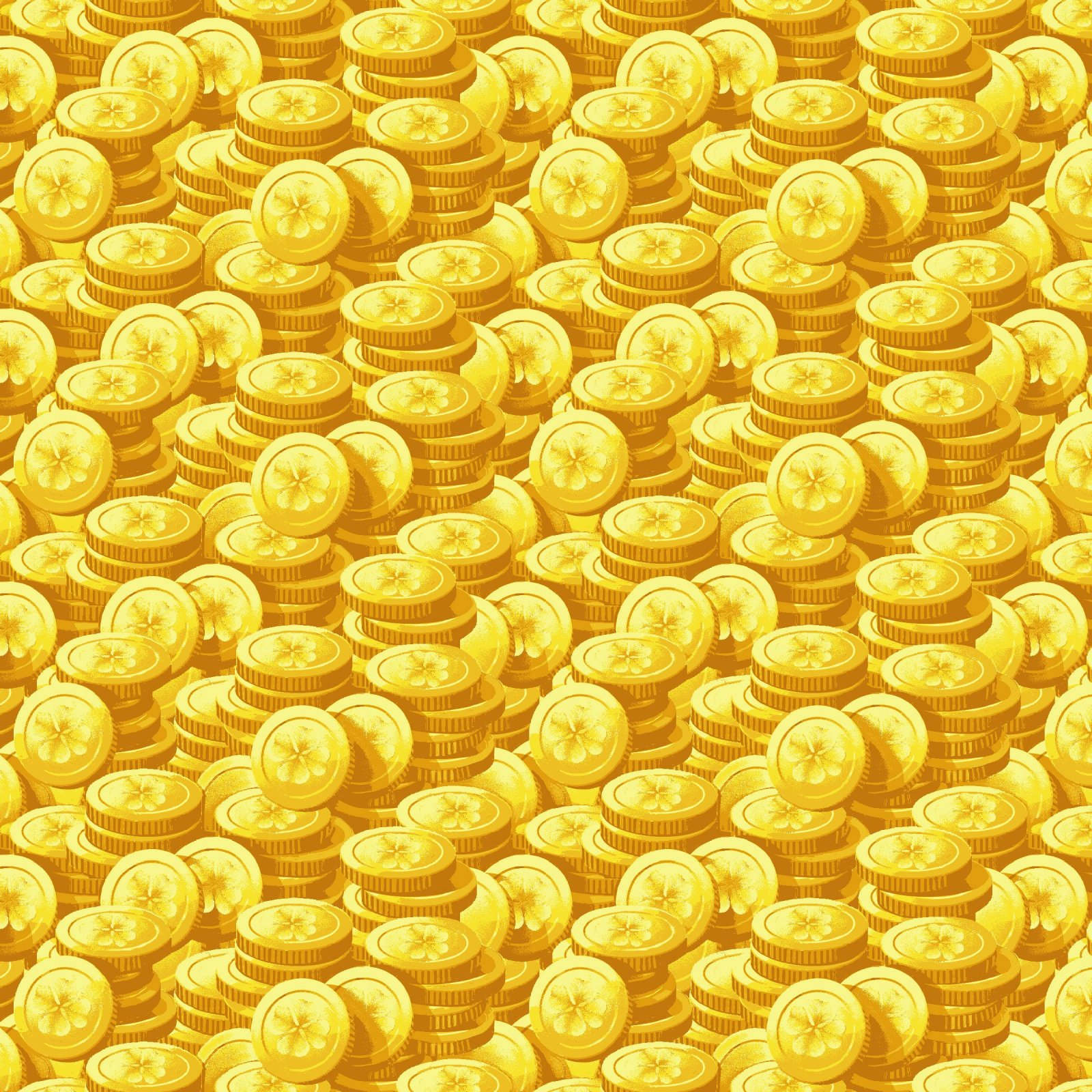 HG-Pot of Gold 9366-44 Yellow - Gold Coins