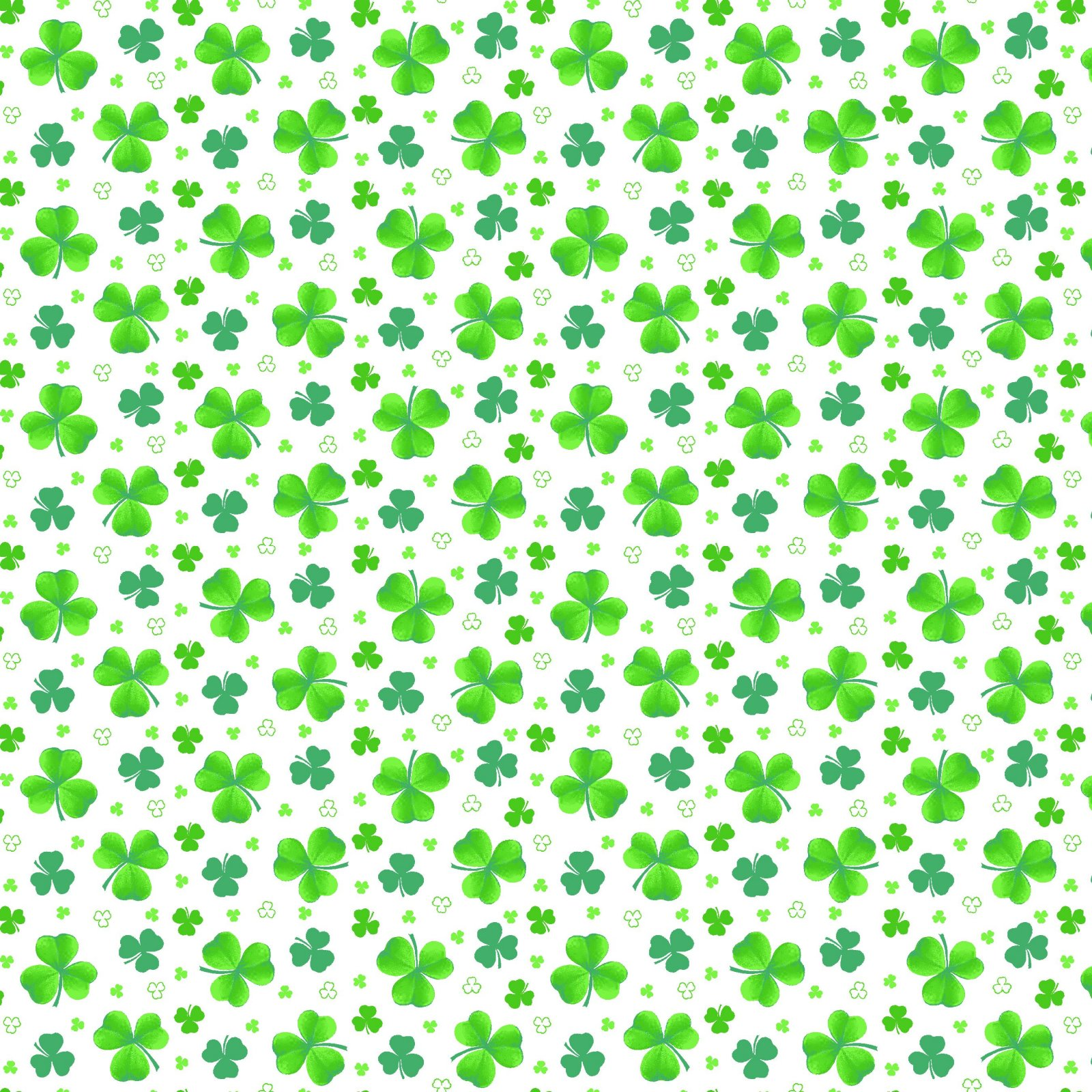 HG-Pot of Gold 9368-16 Green - Tossed Clover