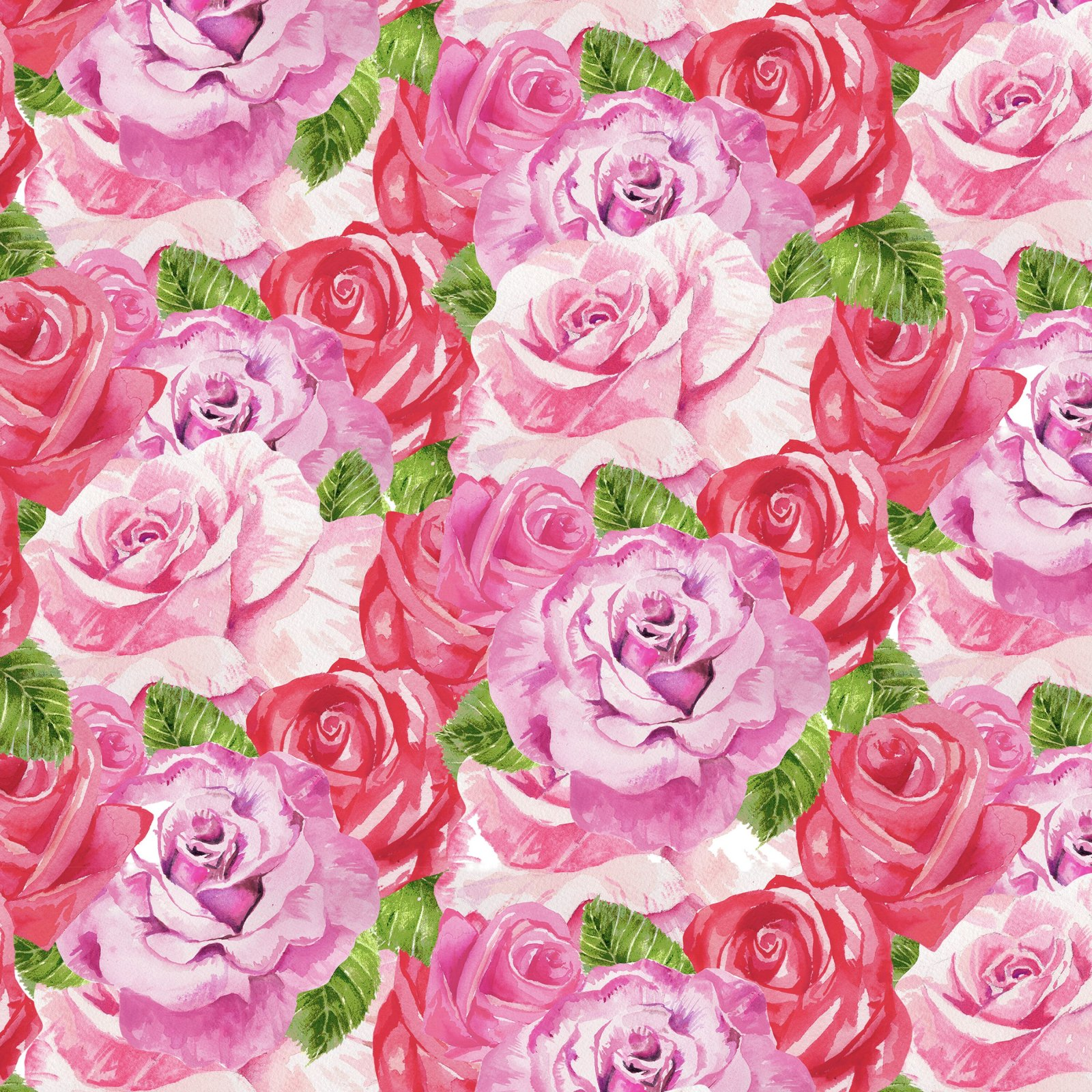 HG-Heart & Soul 9439-22 Pink - Packed Roses