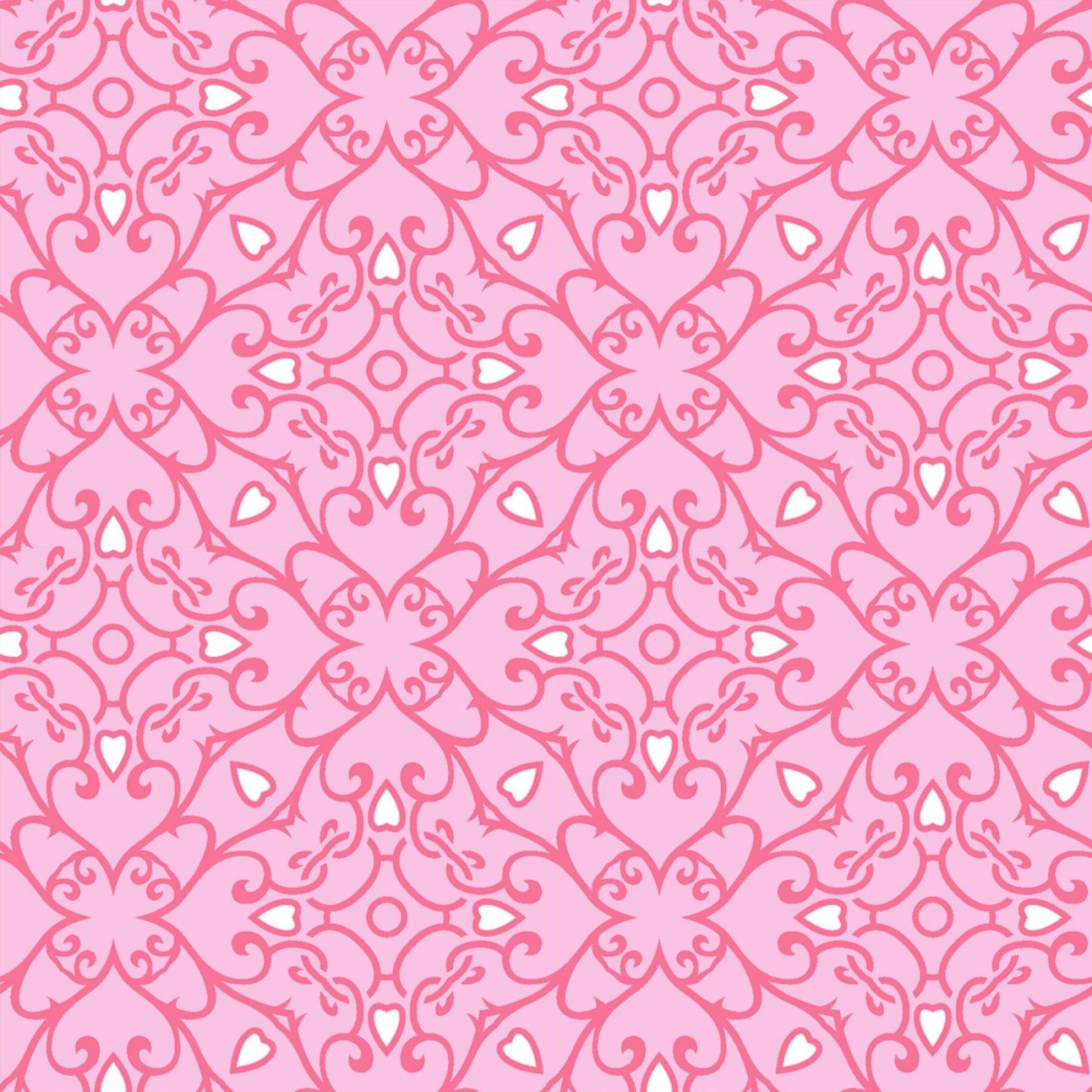 HG-Heart & Soul 9440-22 Pink - Monotone Geometric