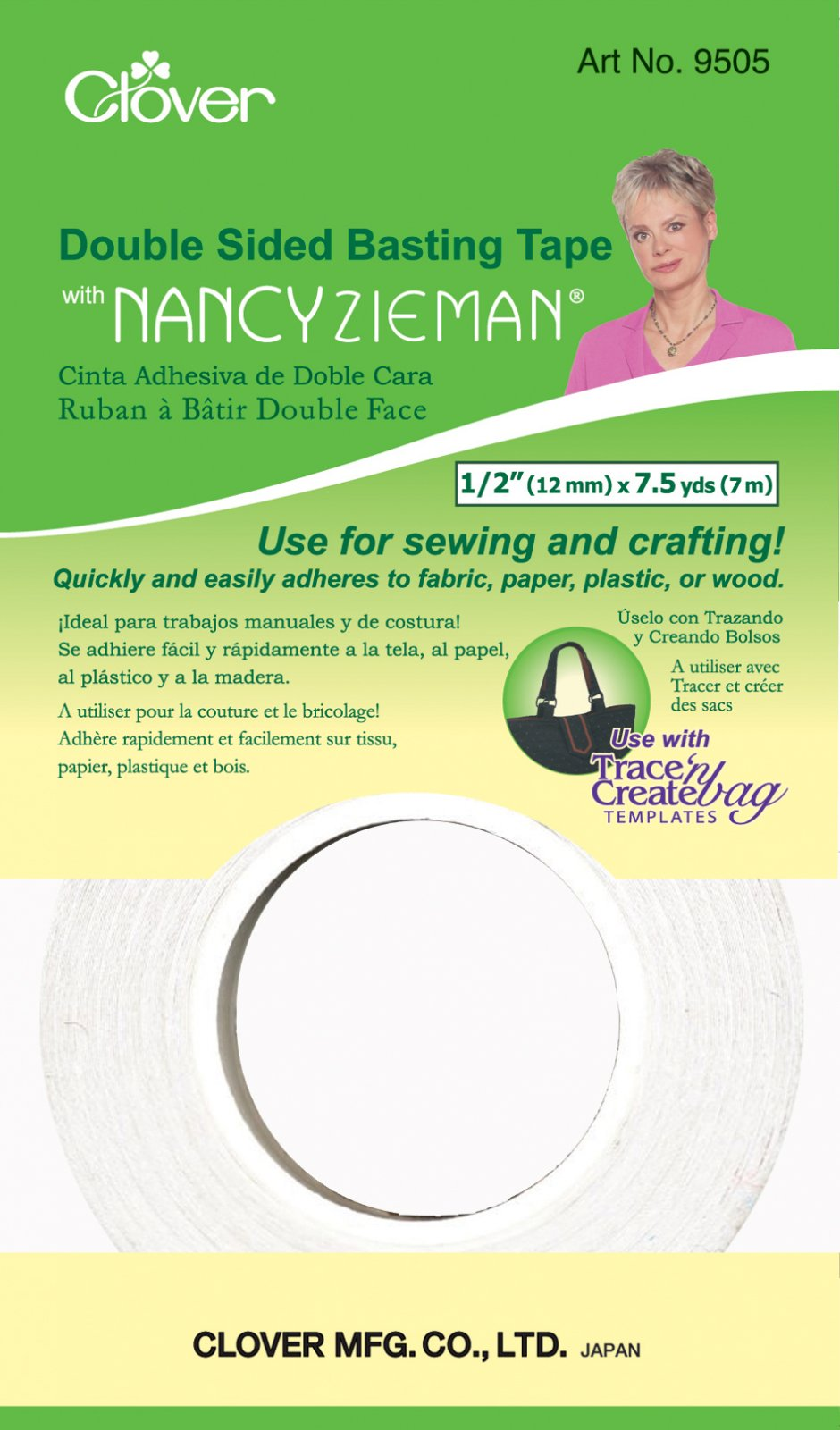 Clover - 9505 Double Sided Basting Tape