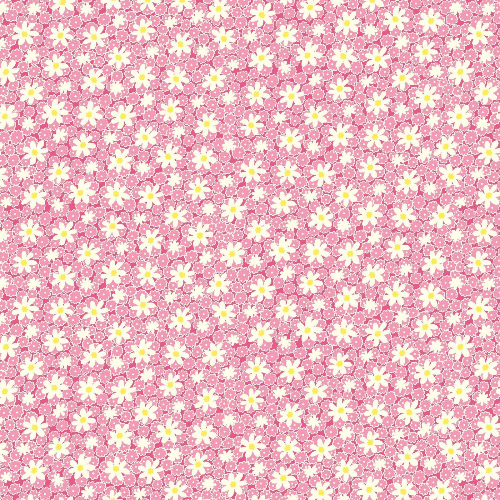 HG-Nana Mae V 9688-22 Pink - Packed Daisies