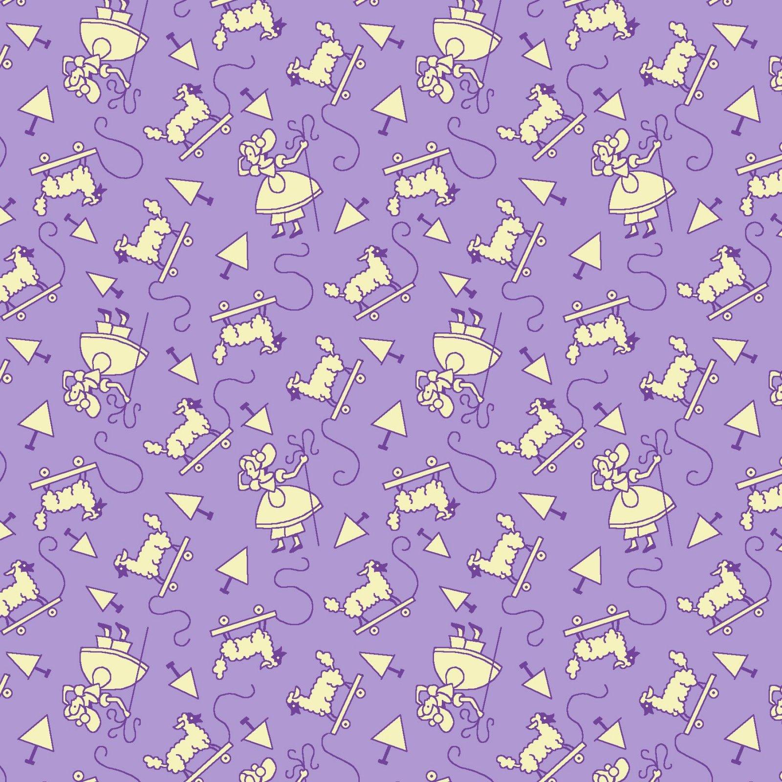HG-Nana Mae V 9692-55 Lavender - Monotone Little Bo Peep