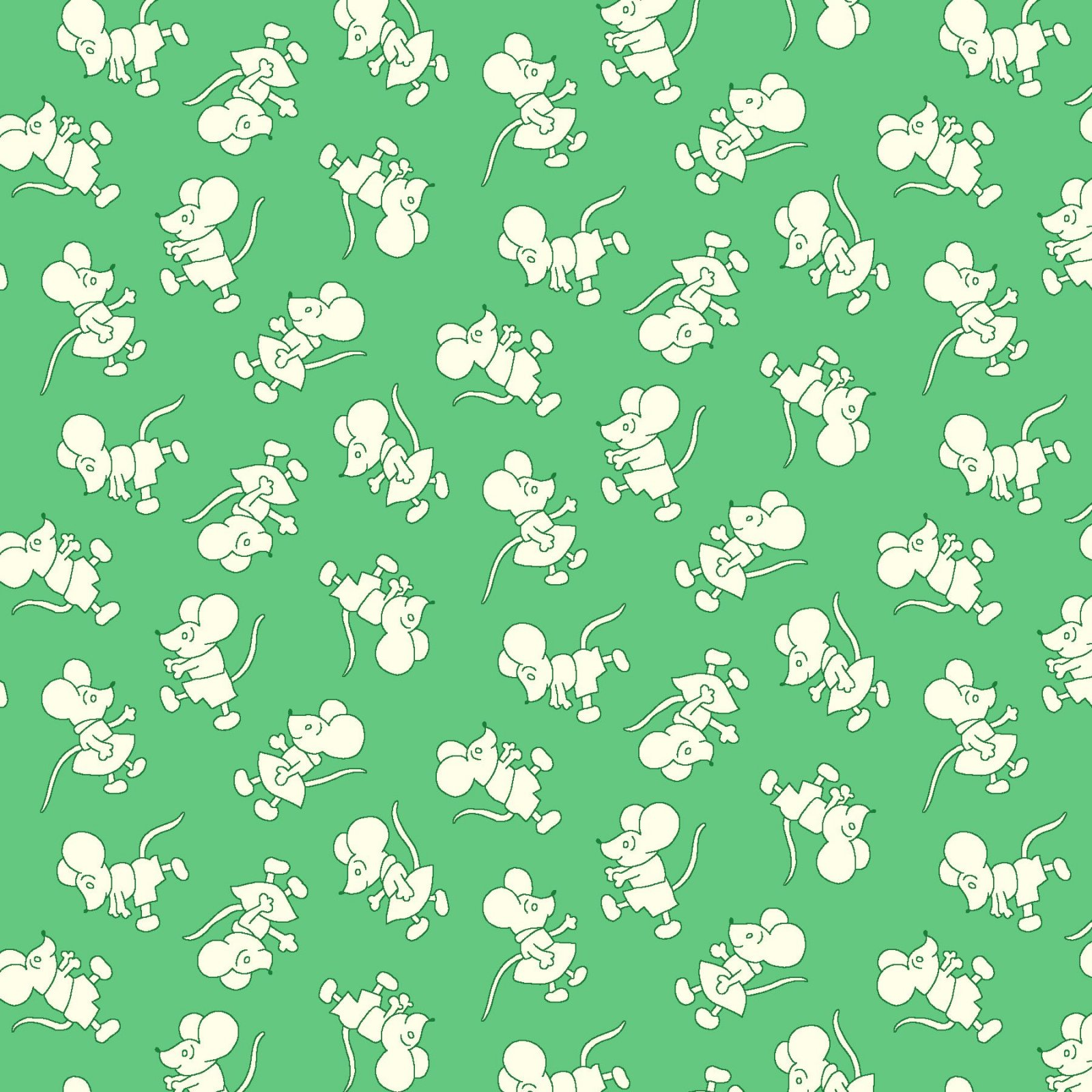 HG-Nana Mae V 9693-66 Green - Tiny Mice