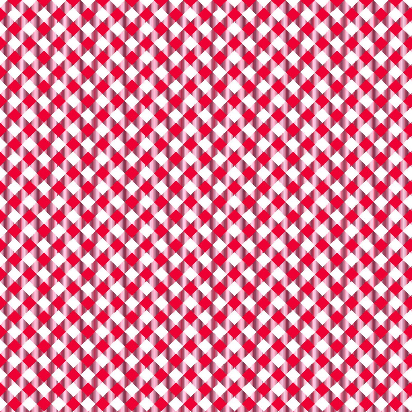HG-Chelsea's Checks 9700-8 Red/White - 1/8 Check