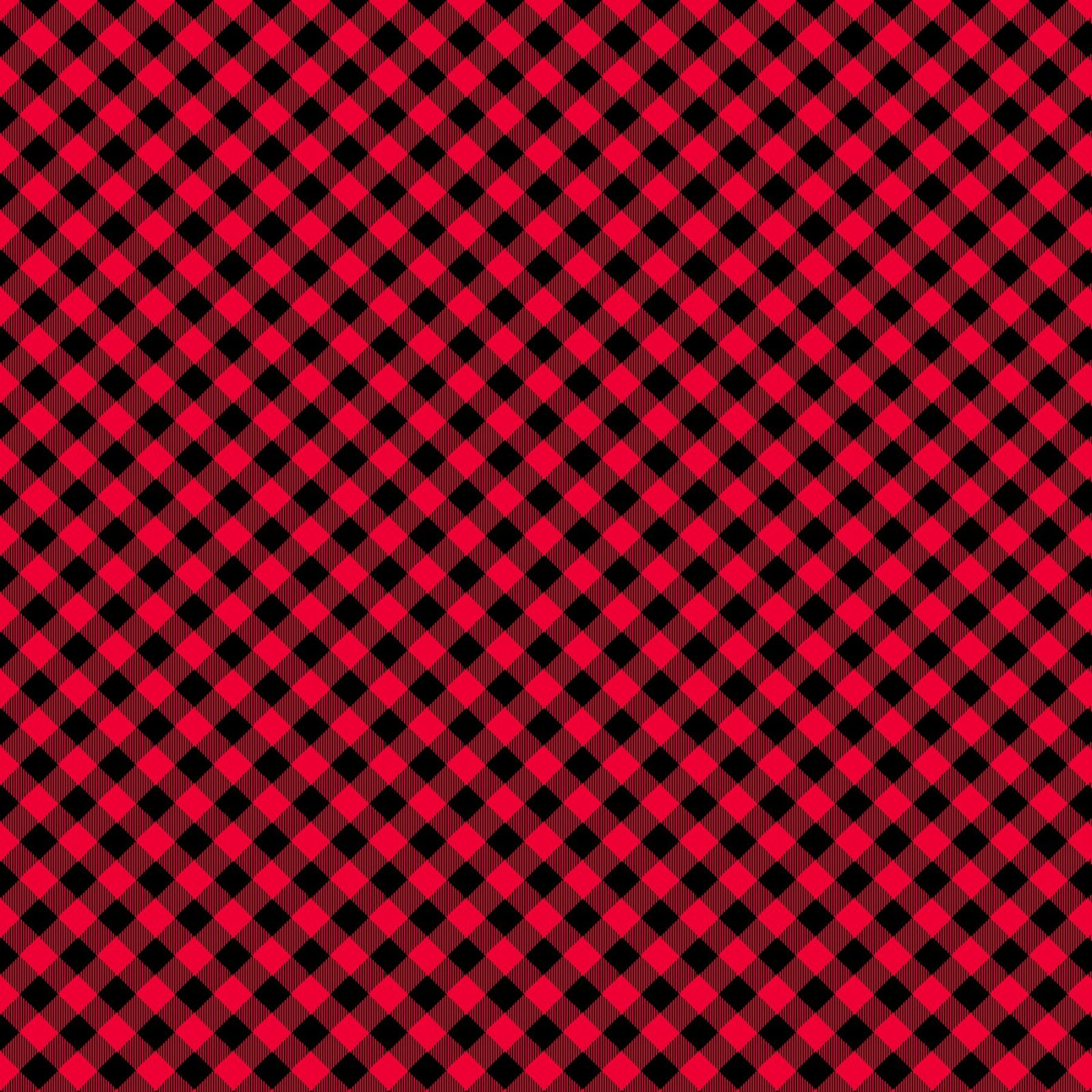 HG-Chelsea's Checks 9700-89 Red/Black - 1/8 Check