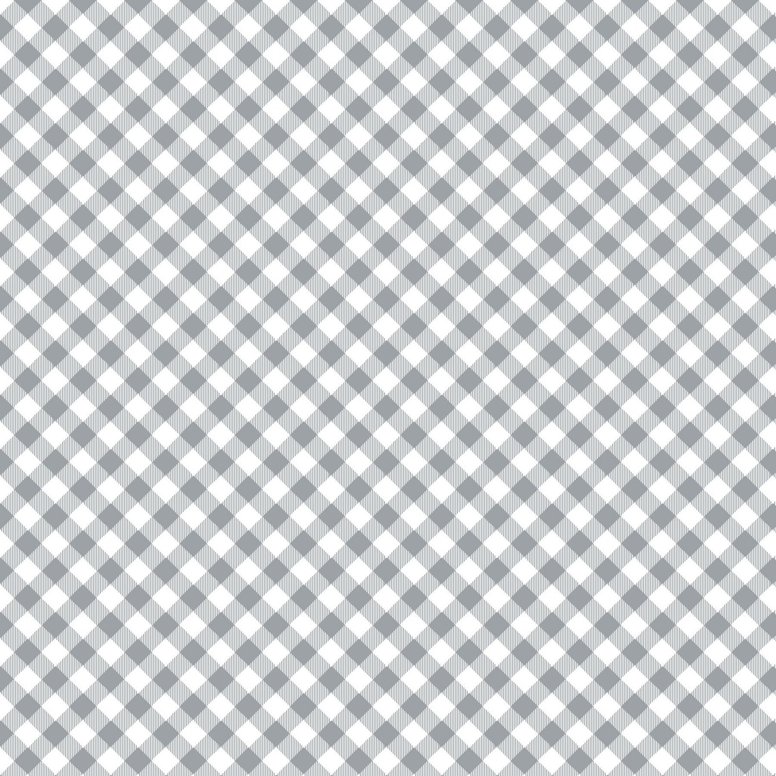 HG-Chelsea's Checks 9700-90 Gray - 1/8 Check