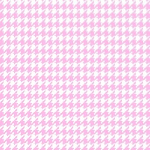 AE-Comfy Flannel Print 0014-2 Pink Houndstooth