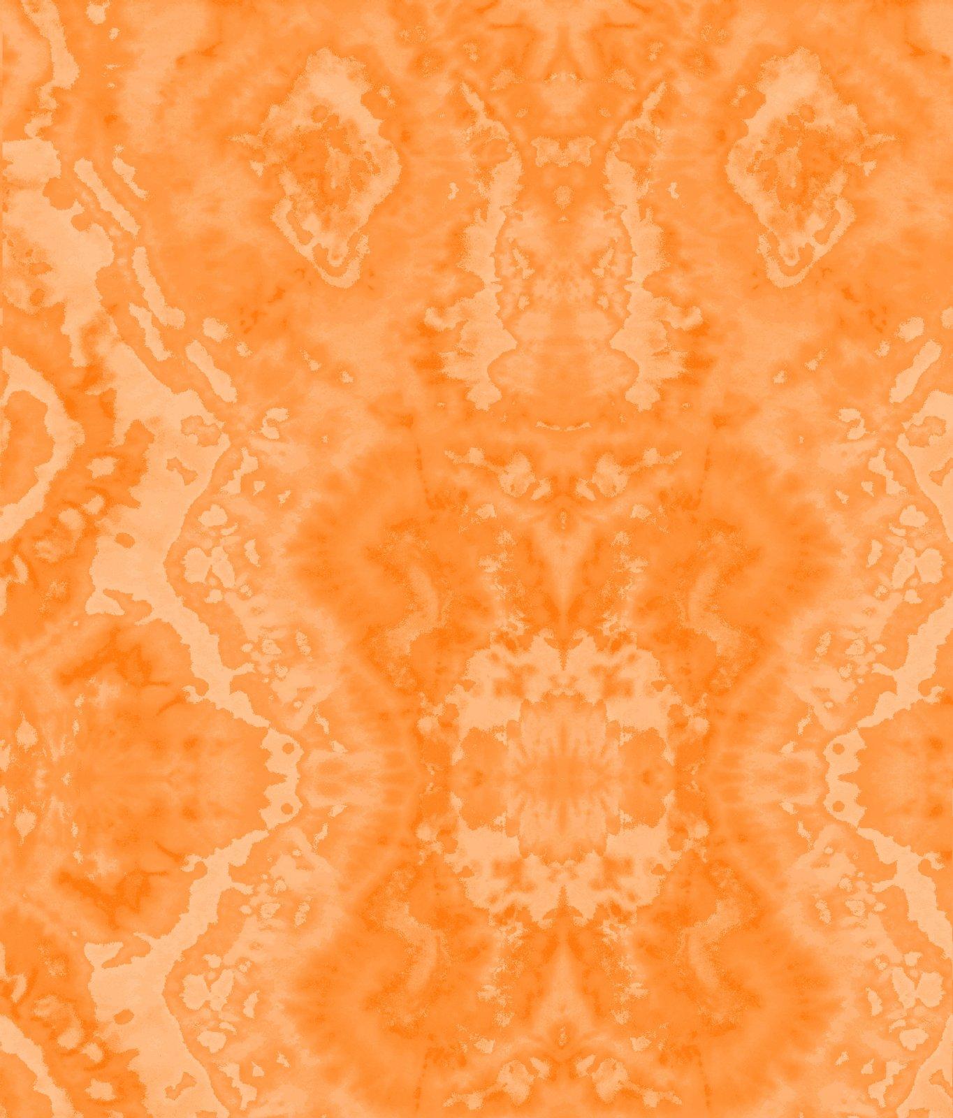 AE-Comfy Flannel Print 9419-333 Orange Blender Flannel