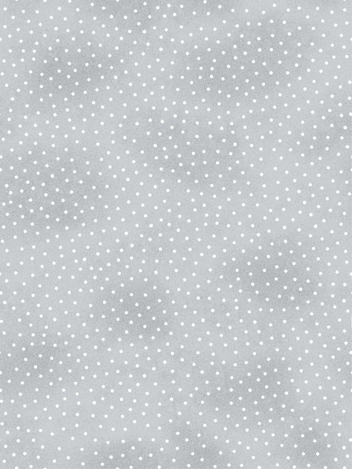 AE-Comfy Flannel Print 9527-99 Grey Dots