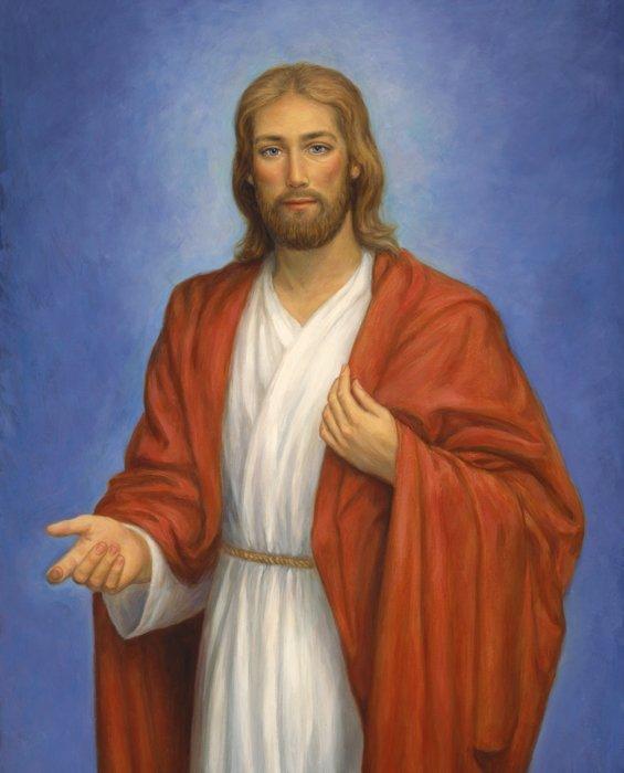 DT-Exclusive Digital Prints AL-3850-9C Jesus Panel
