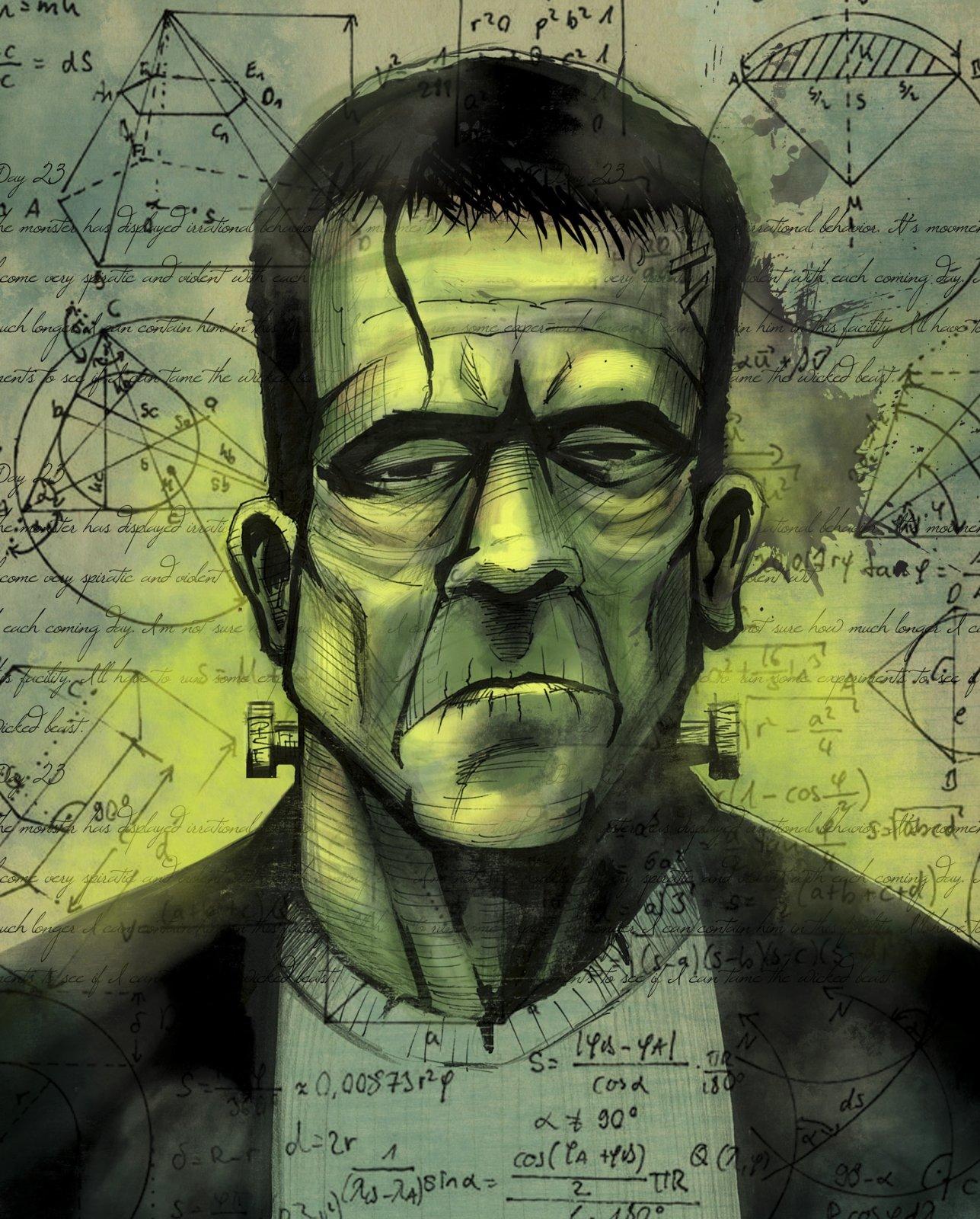 DT-David Exclusives - AL-4032-1 Frankenstein Panel