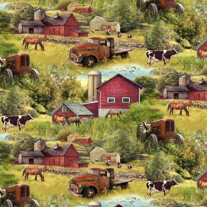 DT-Animal Tradition GG-0005-6C-1 Barns & Trucks
