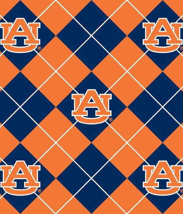 Auburn University AU-095 Fleece/Argyle