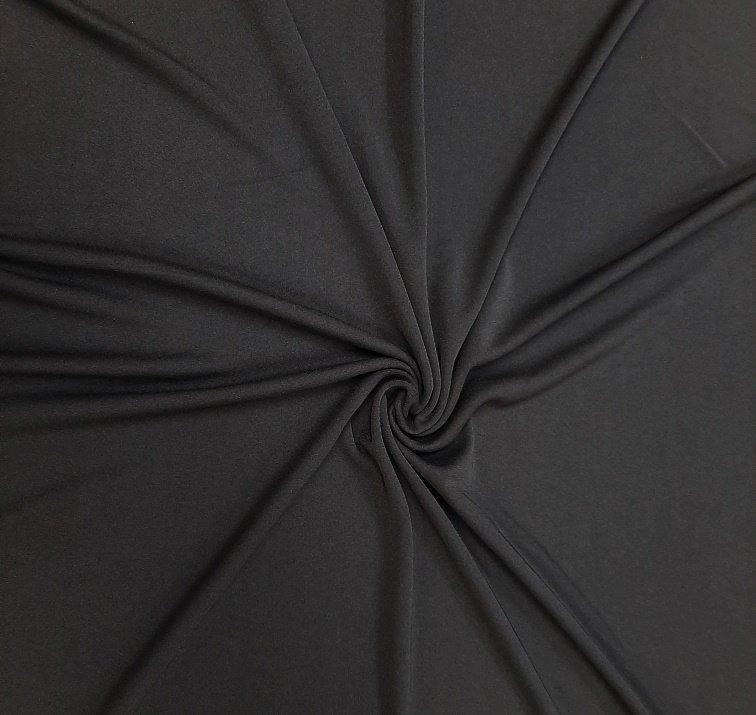 PROMO* Special! Knit Solid - Super Matte Black Jersey