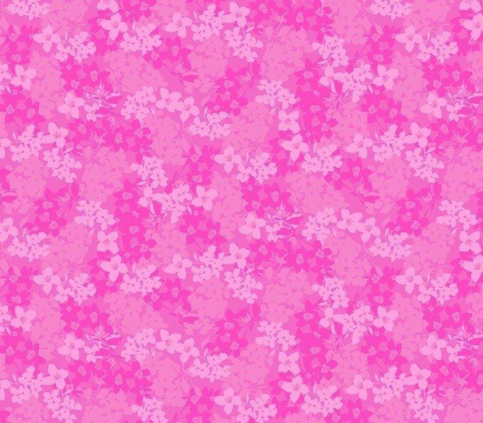 DT-Beautiful Ride DT-3901-4C-1 Eva's Bloom - Fuchsia