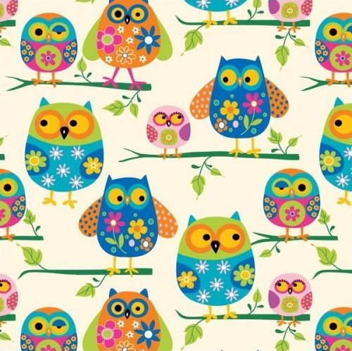 BT-Winterfleece 34306-X Owls