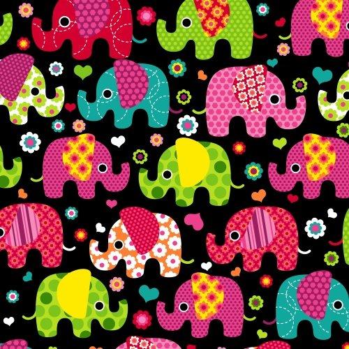 BT-Winterfleece 36672-X Elephants