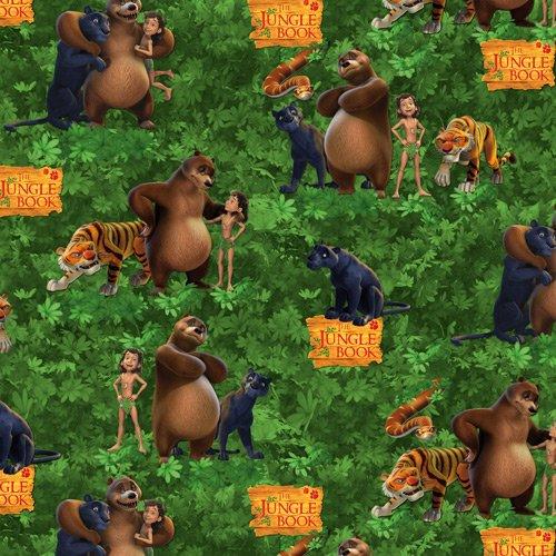 BT-Winterfleece 37132-X Jungle Book