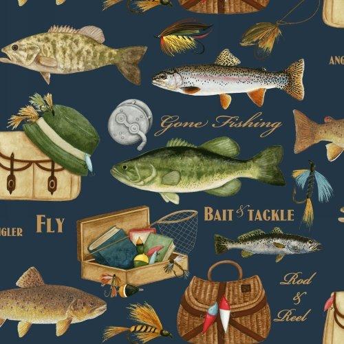BT-Winterfleece 39603-1 Gone Fishing