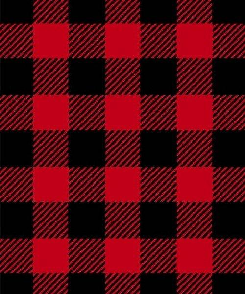 BT-Winterfleece 17061-2 Red Plaid