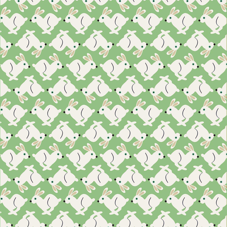 PROMO* TT-Fun C7442 Green - Rabbits