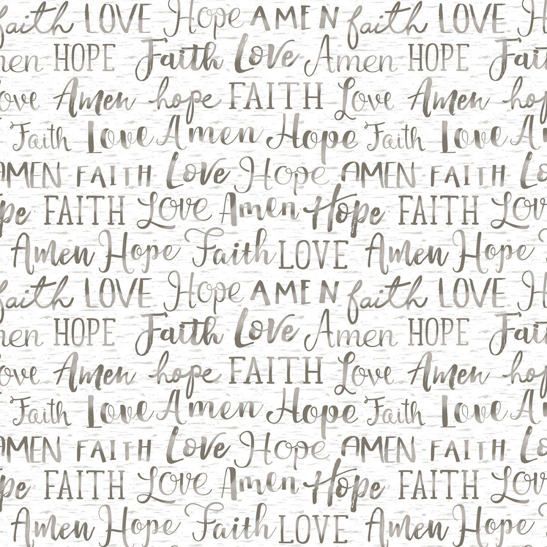 TT-Gail C7858 White - Faith Words