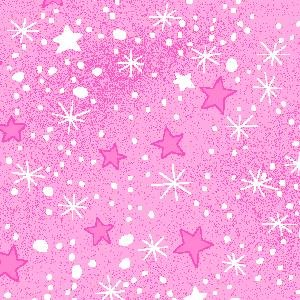 AE-Comfy Flannel Prints 9831-22 Pink Mini Stars