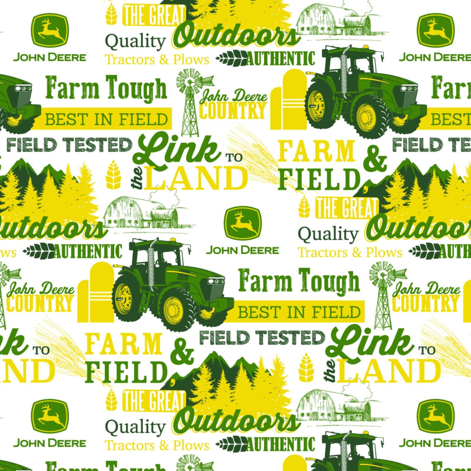 SC-John Deere Cotton 64090 Farm & Field, The Great Outdoors