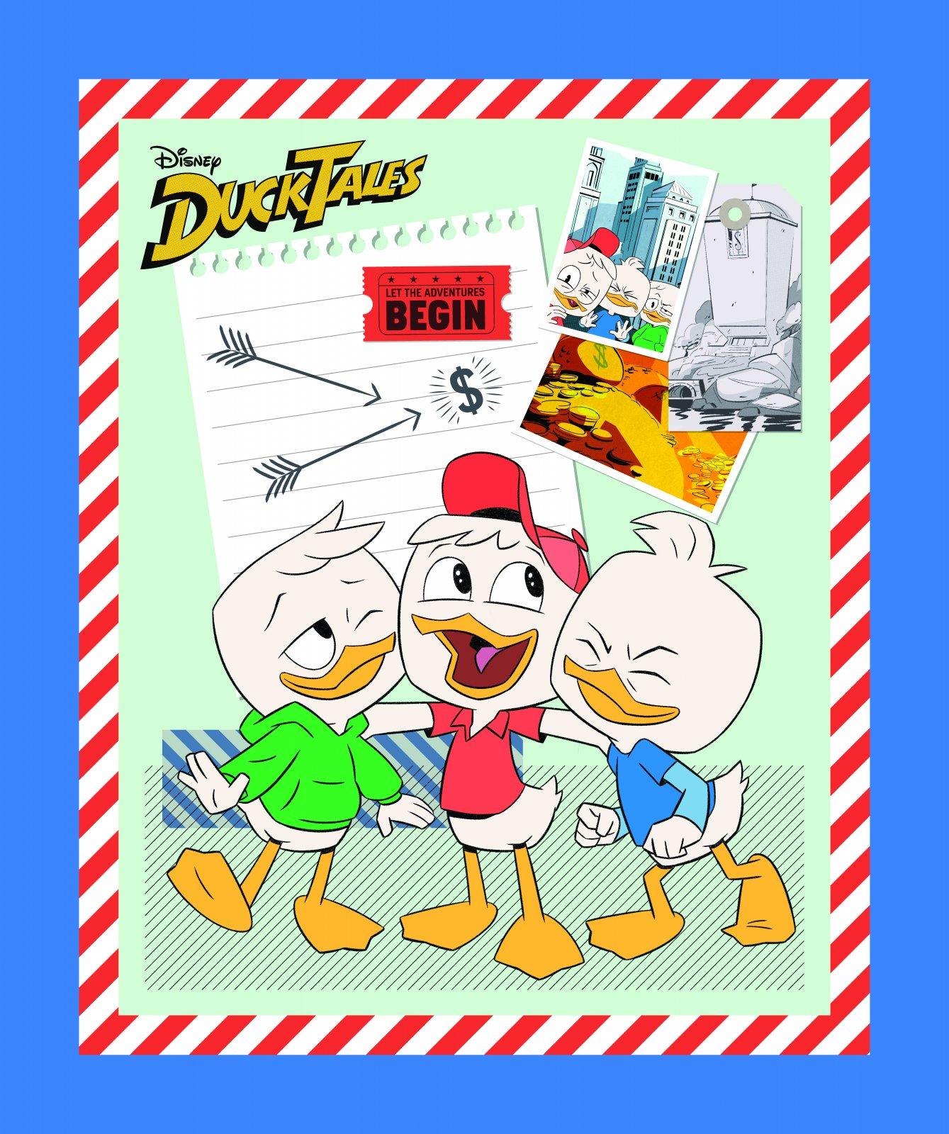 PROMO* SC-Disney Classic Ducktales 66236 Ducktales Panel