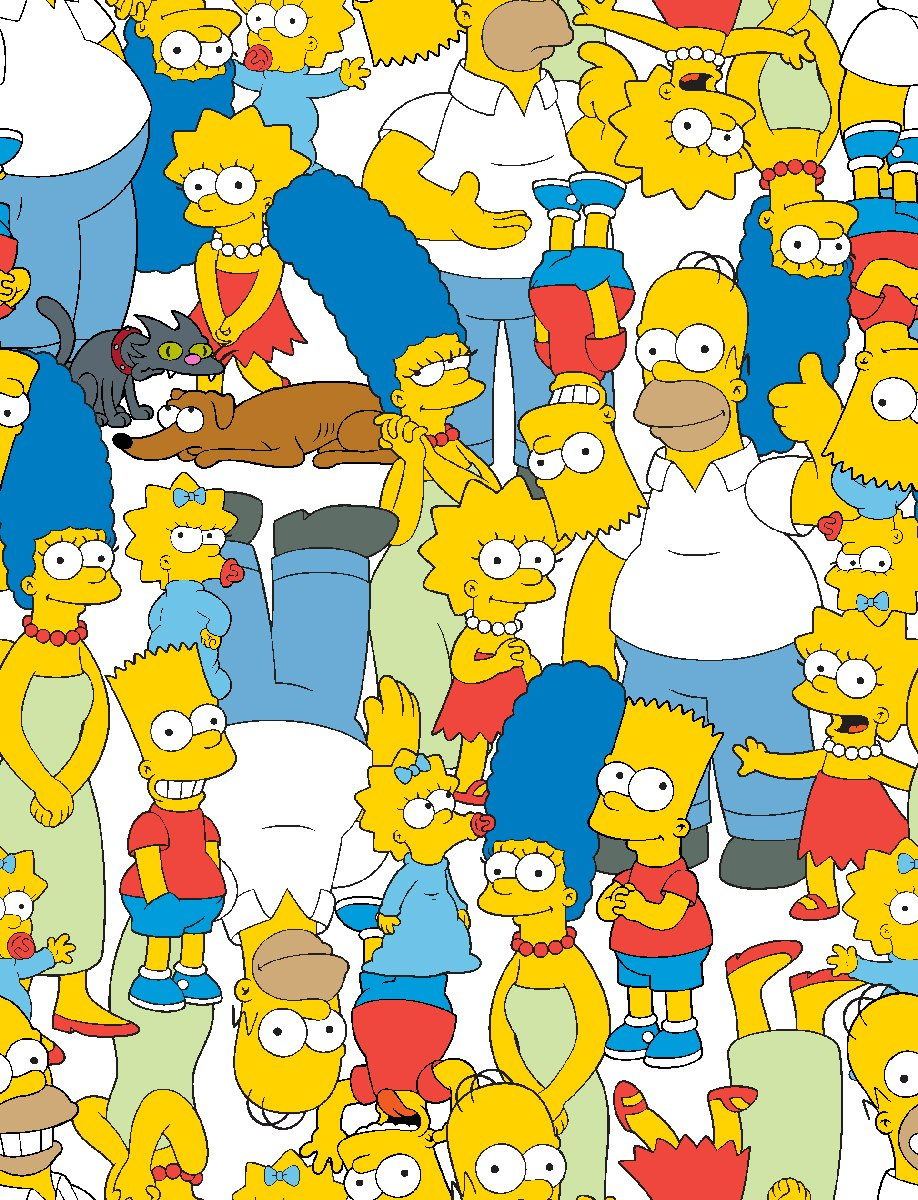 SC-The Simpsons 74551-H210715 Simpsons Packed