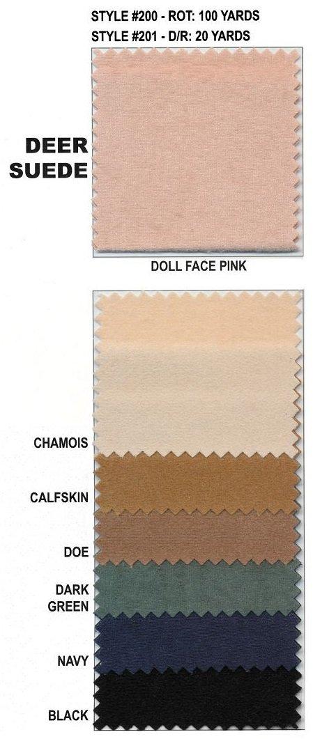 WWF - Deer Suede - 7 Colors (Note color when ordering)