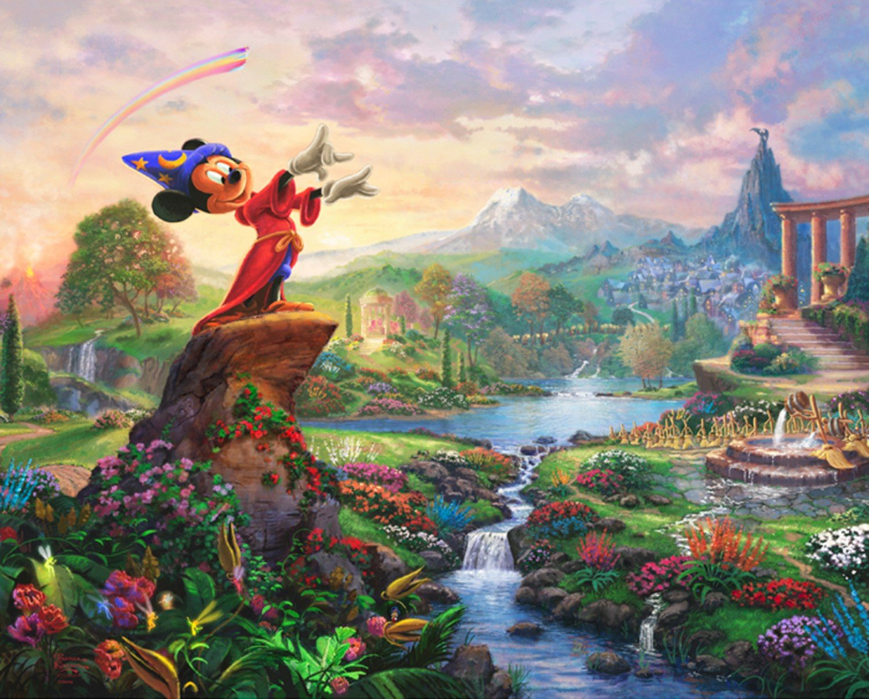 DT-Disney Magic DS-2020-9C-1 Fantasia Panel (35.5 x 44)