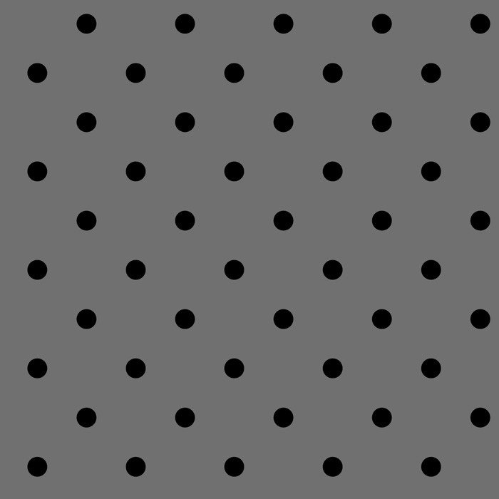 DT-Bali Beauty DT-3909-4C-7 Grey/Black - Swiss Dots