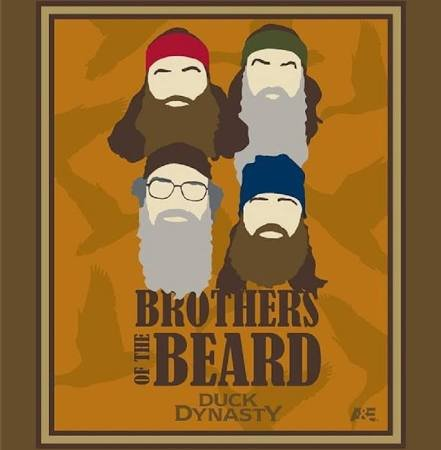 PROMO* SC-Duck Dynasty 49542 Brothers of the Beard Panel