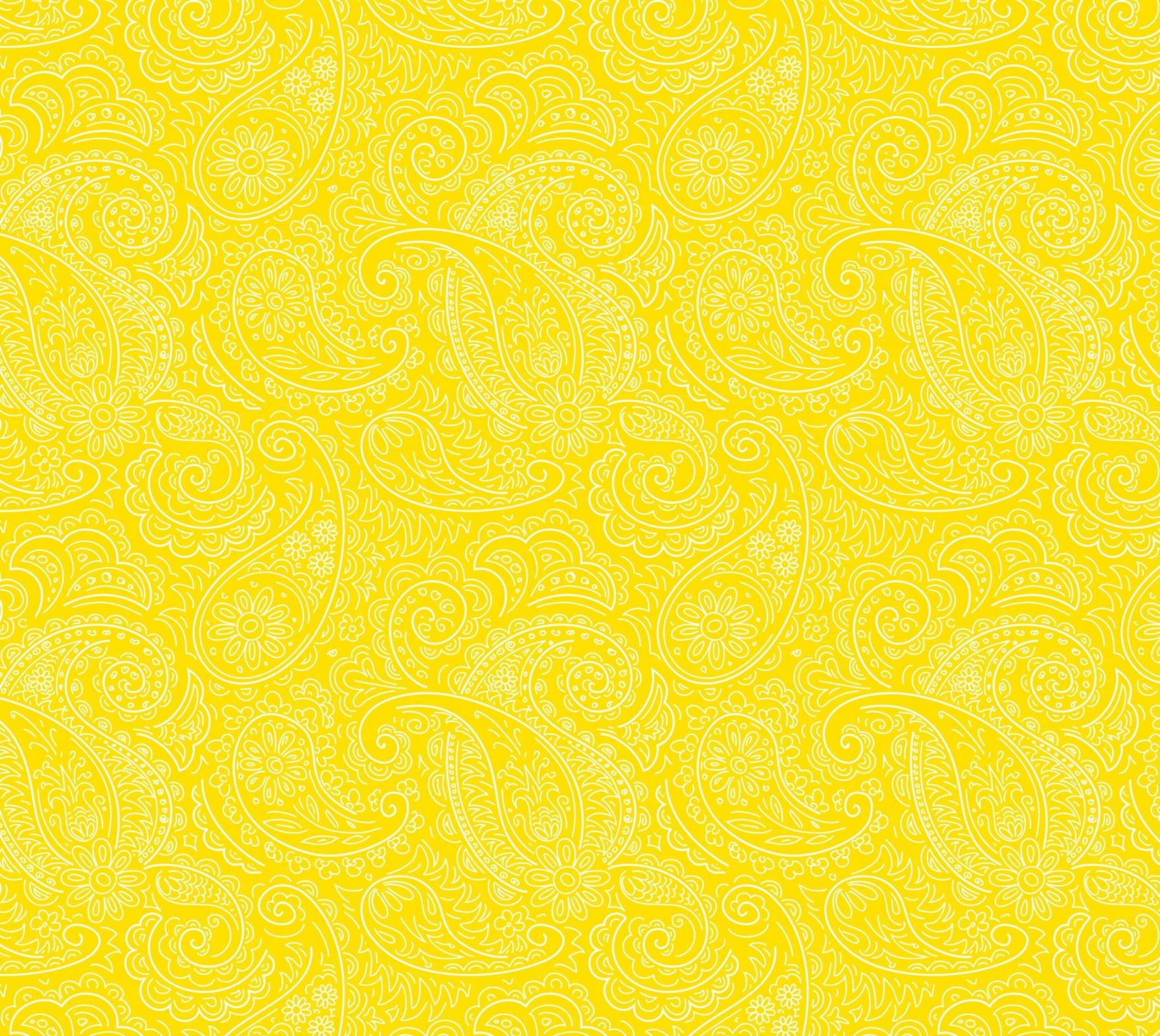 DT-Rosette Garden DX-1784-0C-15 Golds - Drawn Paisley