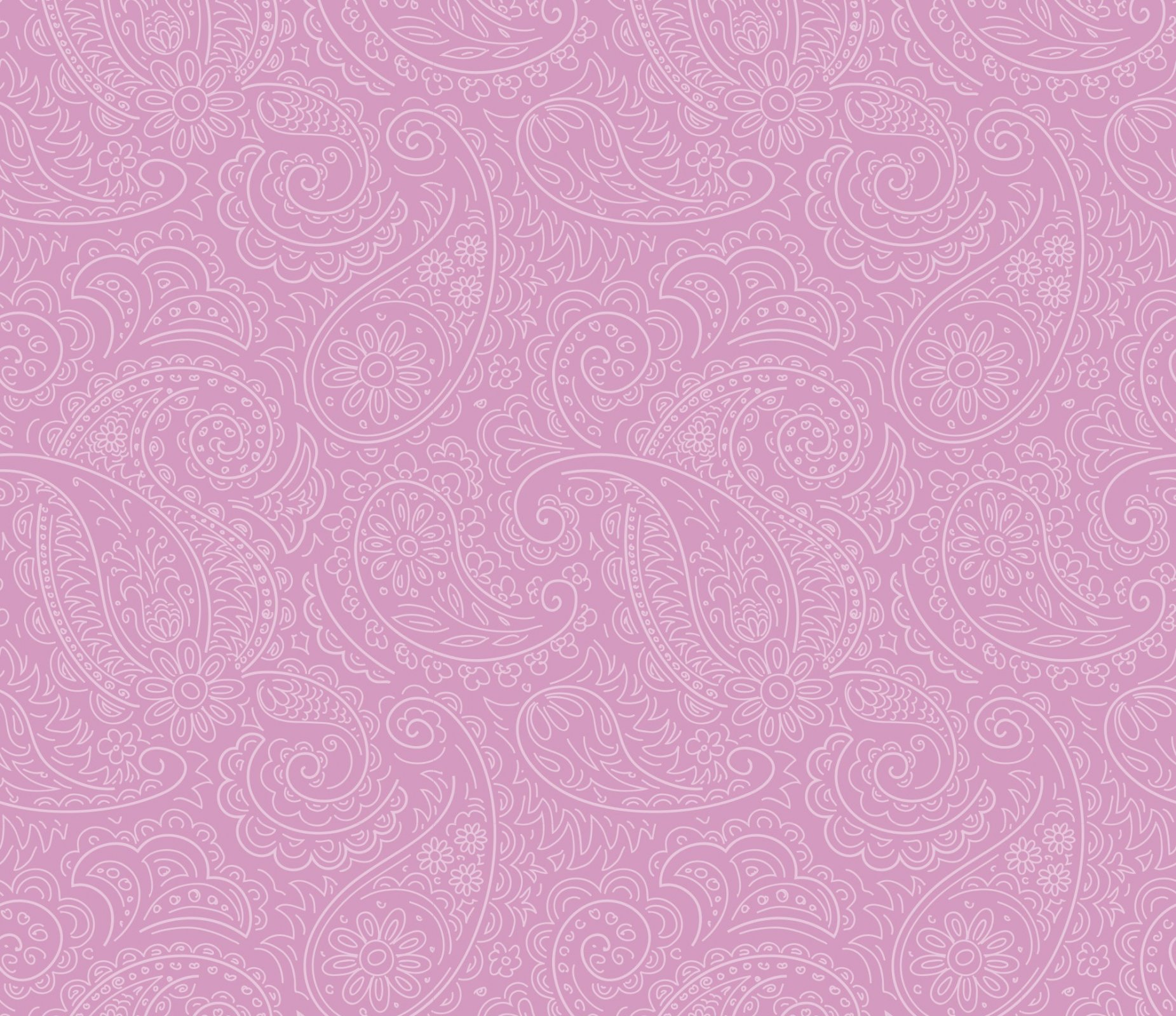DT-Prima Meadows DX-1784-0C-5 Pink - Drawn Paisley