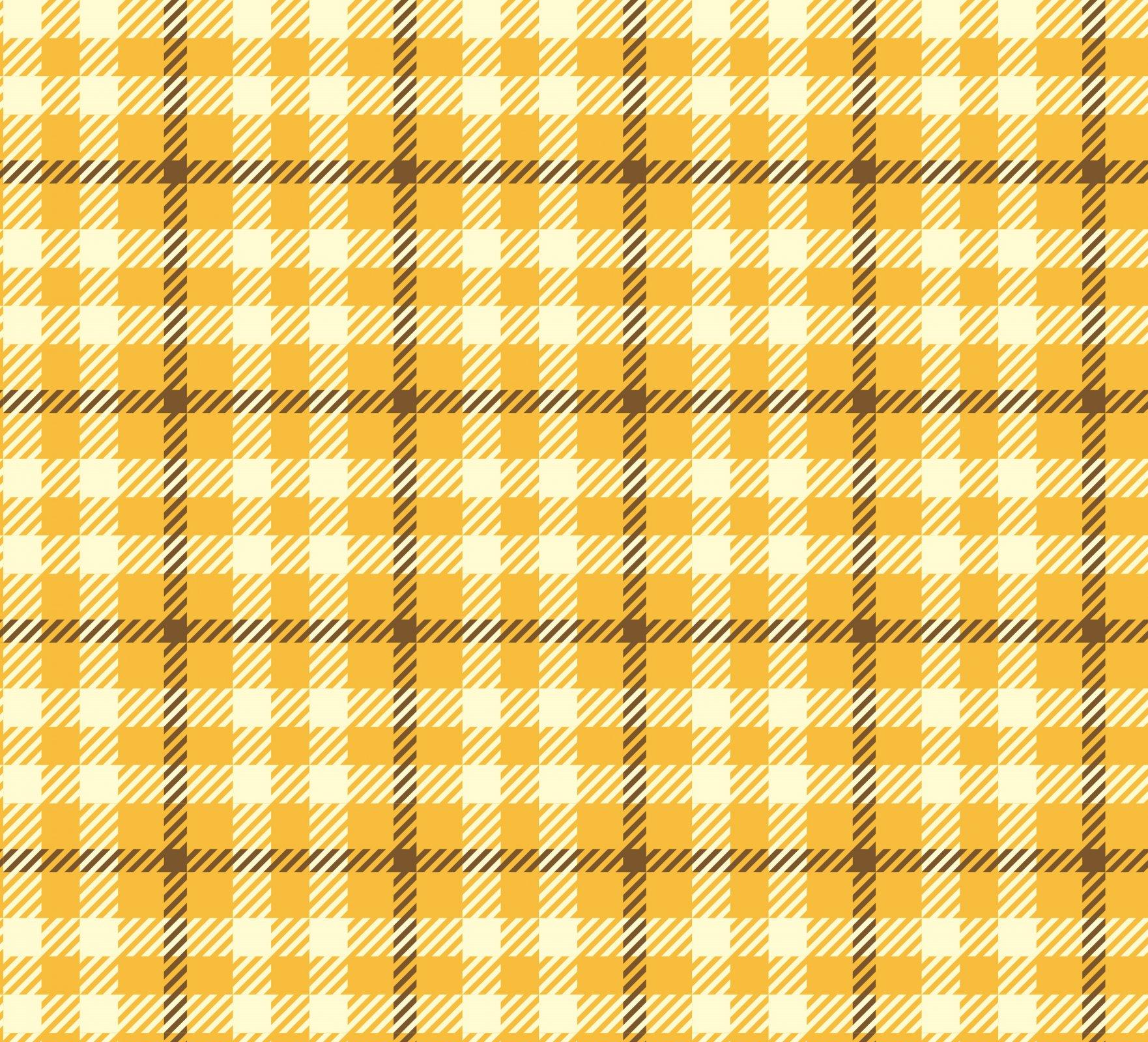 DT-Rosette Garden DX-1868-0C-1 Yellow - Spring Tartan
