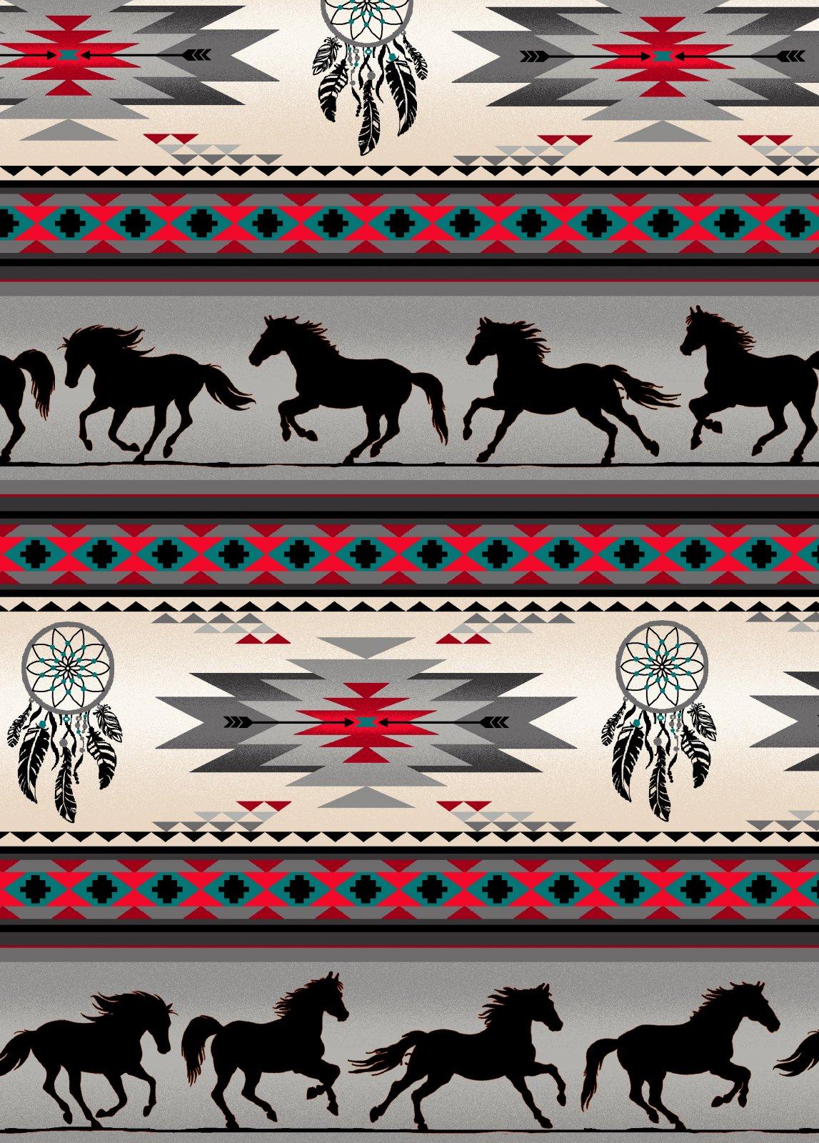 ES-Tucson 497 Gray Horse Stripe