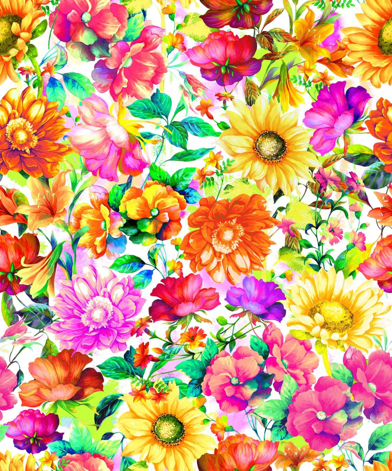 OF-Fantasy 59-19901 Multi - Flowers