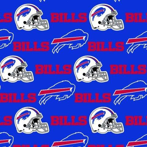 FT-NFL Cotton 6377-D Buffalo Bills