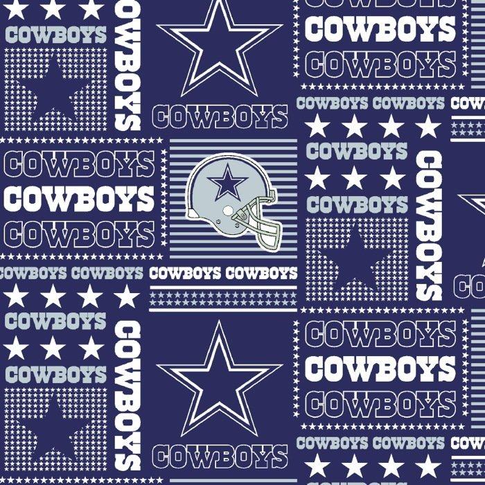 FT-NFL Cotton 6424 D Dallas Cowboys