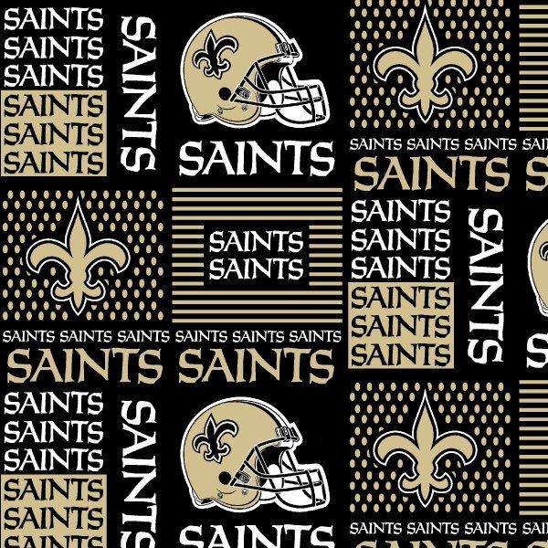 FT-NFL Cotton 6436-D New Orleans Saints