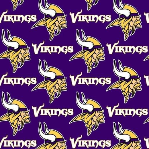FT-NFL cotton 6456 D Minn Vikings
